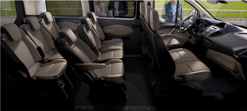 Production Ford Tourneo Custom announced, on sale 2012 Image #94552