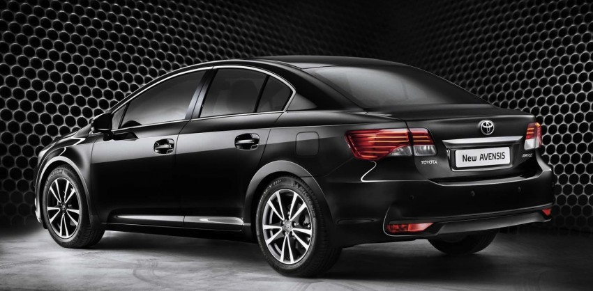 Frankfurt: Facelifted Toyota Avensis makes its debut Image #68674