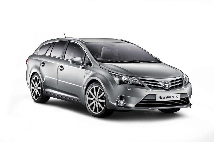 Frankfurt: Facelifted Toyota Avensis makes its debut Image #68678
