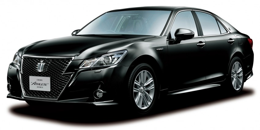 Toyota Crown – 14th-gen S210 makes its debut Image #147329