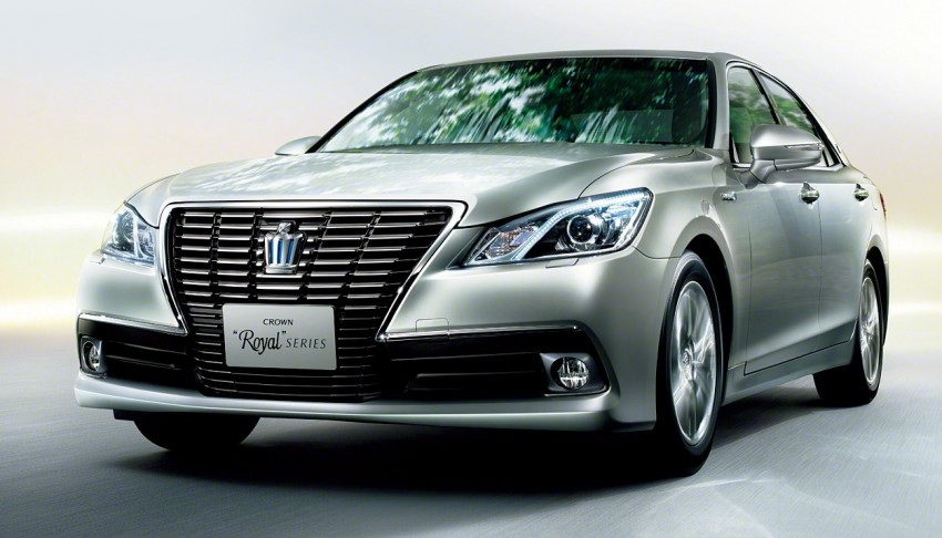 Toyota Crown – 14th-gen S210 makes its debut Image #147328