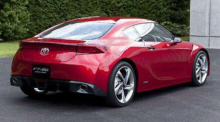 Toyota FT-HS Rear