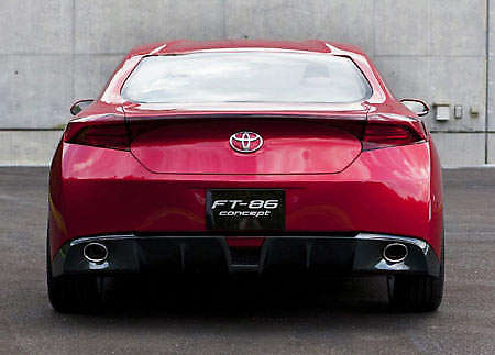 Toyota FT-HS Back