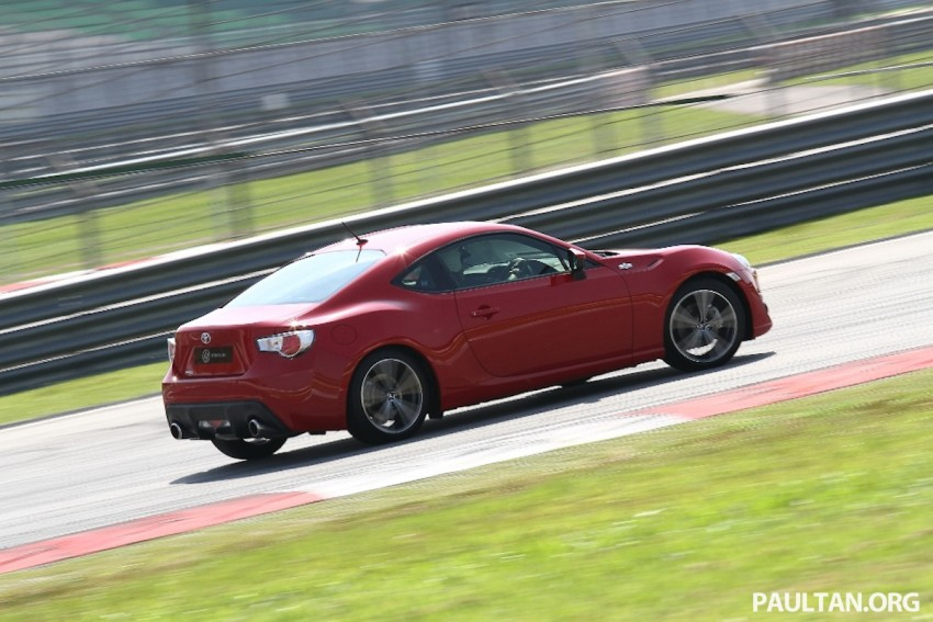 Toyota 86 officially launched in Malaysia – manual going for RM243k, auto RM249k – we try it! Image #109616