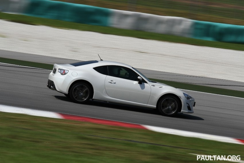 Toyota 86 officially launched in Malaysia – manual going for RM243k, auto RM249k – we try it! Image #109620