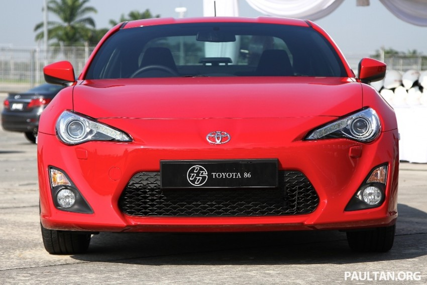 Toyota 86 officially launched in Malaysia – manual going for RM243k, auto RM249k – we try it! Image #109622