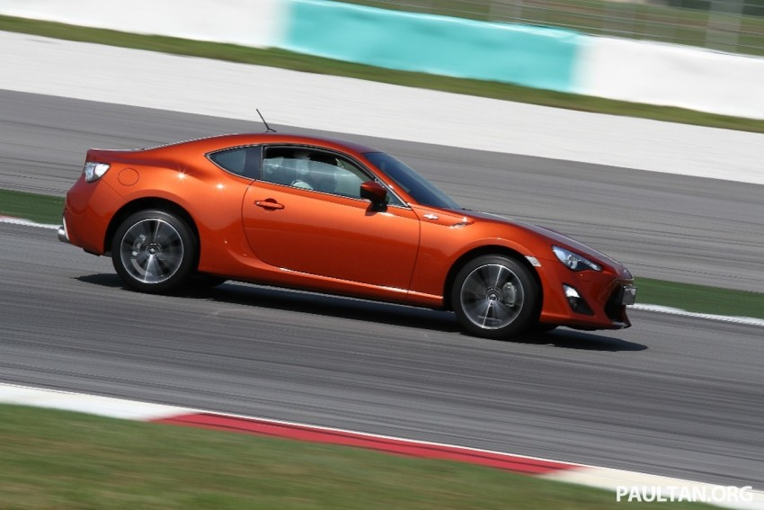 Toyota 86 officially launched in Malaysia – manual going for RM243k, auto RM249k – we try it! Image #109624