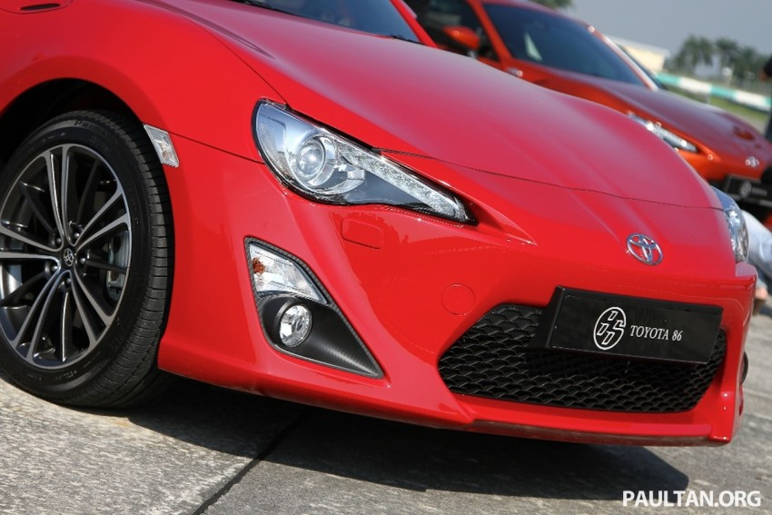 Toyota 86 officially launched in Malaysia – manual going for RM243k, auto RM249k – we try it! Image #109625