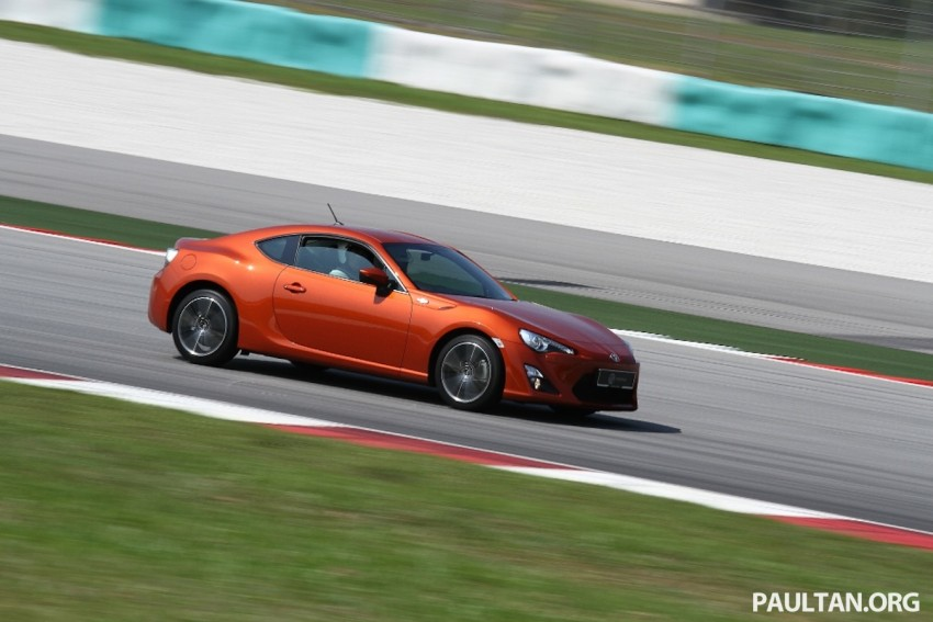 Toyota 86 officially launched in Malaysia – manual going for RM243k, auto RM249k – we try it! Image #109632