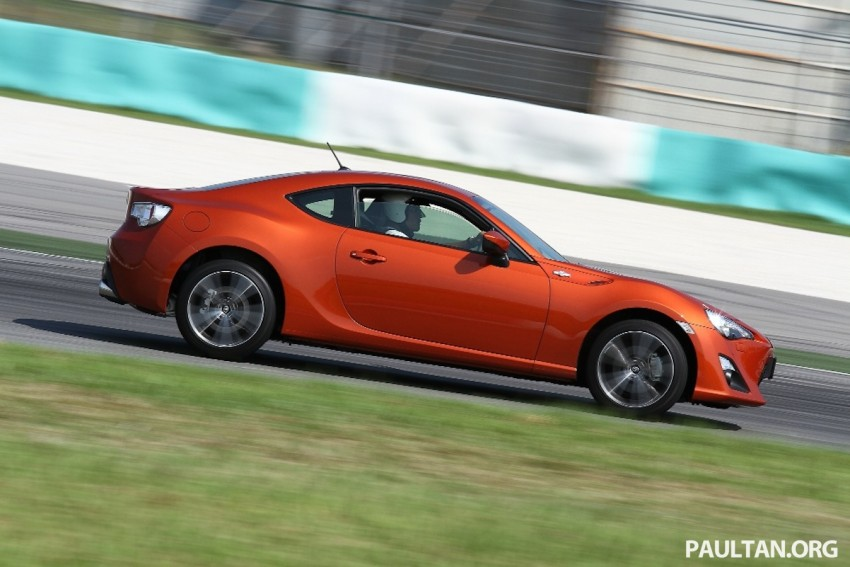 Toyota 86 officially launched in Malaysia – manual going for RM243k, auto RM249k – we try it! Image #109633