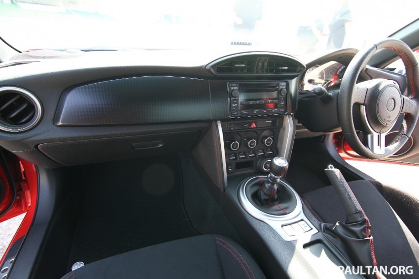 Toyota 86 officially launched in Malaysia – manual going for RM243k, auto RM249k – we try it! Image #109637