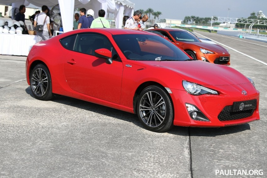 Toyota 86 officially launched in Malaysia – manual going for RM243k, auto RM249k – we try it! Image #109638