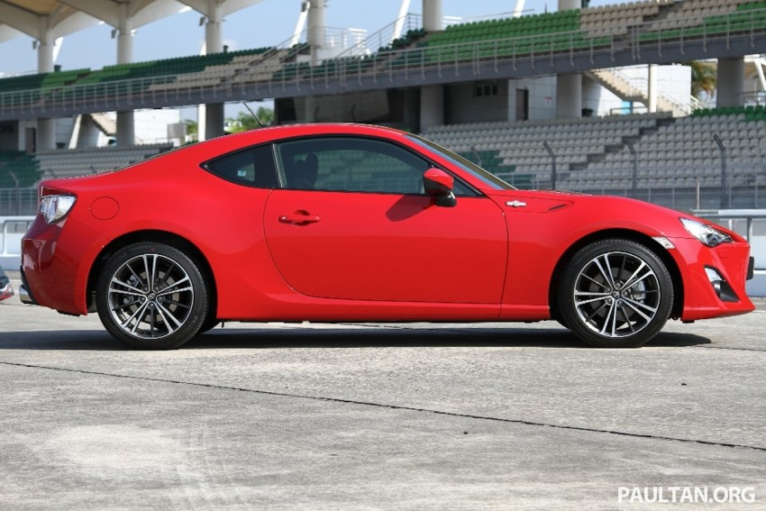 Toyota 86 officially launched in Malaysia – manual going for RM243k, auto RM249k – we try it! Image #109641