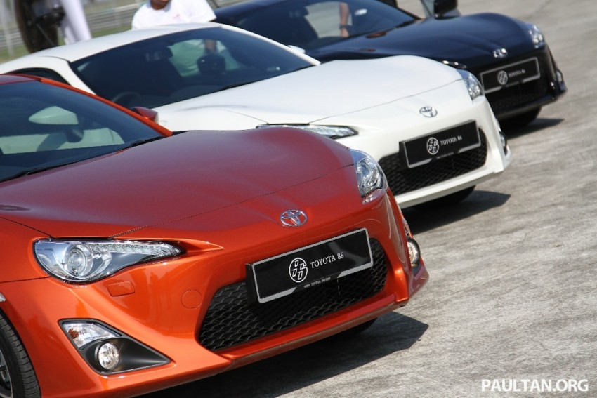 Toyota 86 officially launched in Malaysia – manual going for RM243k, auto RM249k – we try it! Image #109643