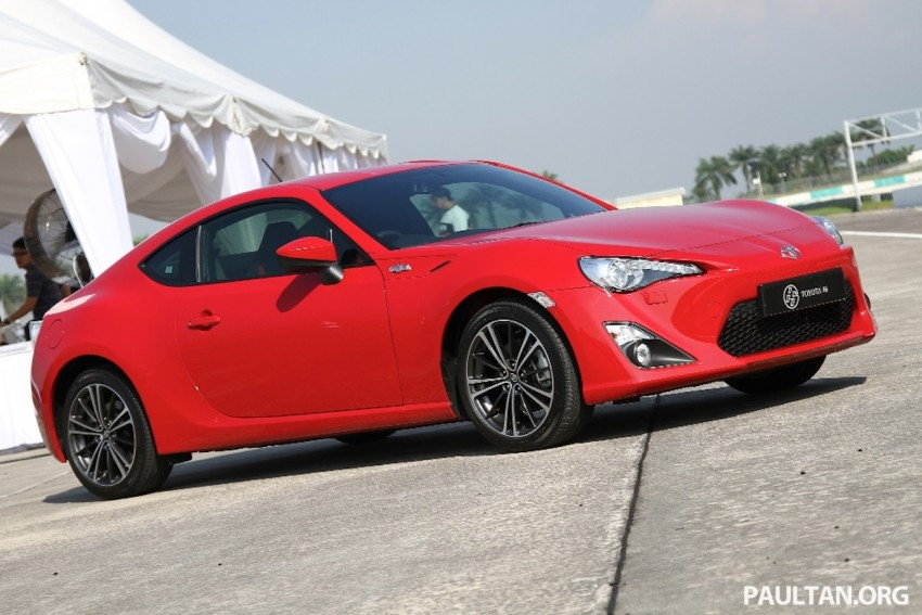 Toyota 86 officially launched in Malaysia – manual going for RM243k, auto RM249k – we try it! Image #109648