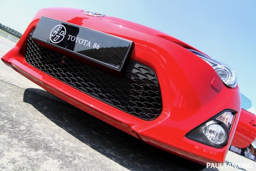 Toyota 86 officially launched in Malaysia – manual going for RM243k, auto RM249k – we try it! Image #109651
