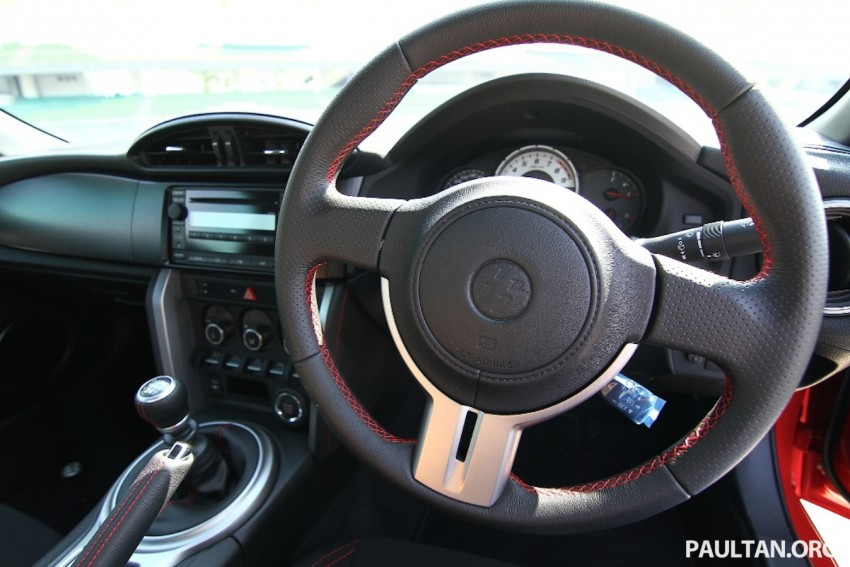Toyota 86 officially launched in Malaysia – manual going for RM243k, auto RM249k – we try it! Image #109666