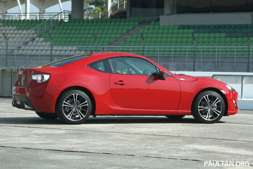 Toyota 86 officially launched in Malaysia – manual going for RM243k, auto RM249k – we try it! Image #109668