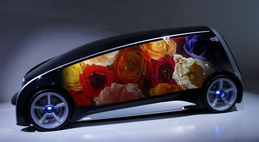 Tokyo 2011: Toyota shows off the Fun-Vii concept Image #78566
