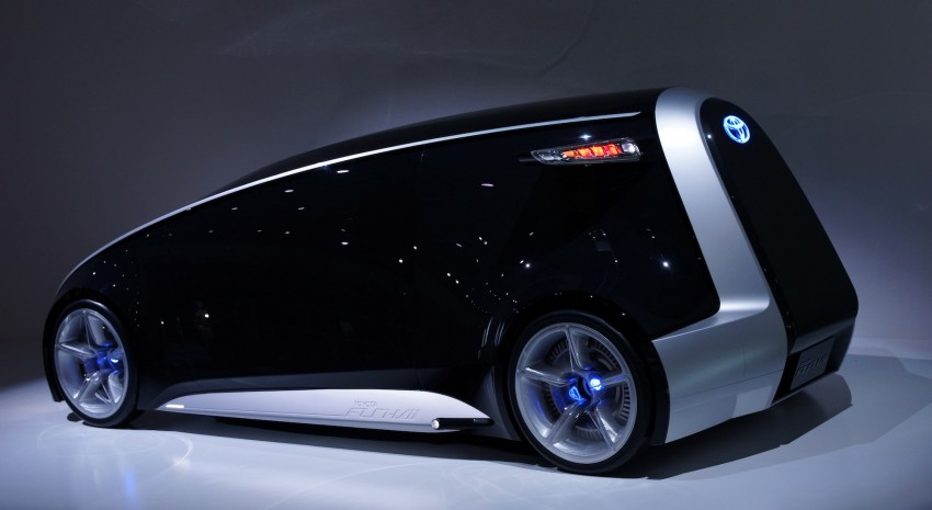 Tokyo 2011: Toyota shows off the Fun-Vii concept Image #78567