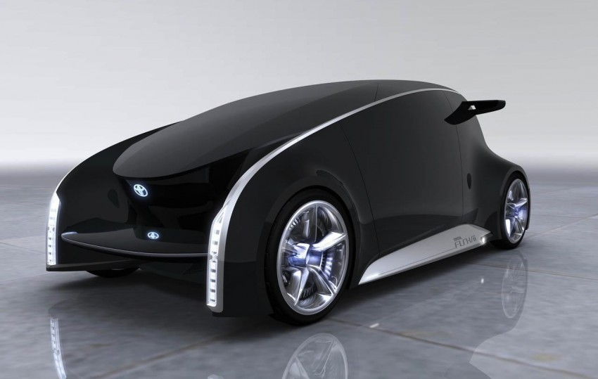 Tokyo 2011: Toyota shows off the Fun-Vii concept Image #78569