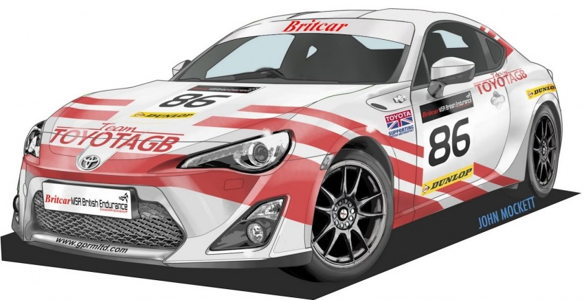 Team Toyota GB to enter the 86 in Britcar 24 Hours Image #121939