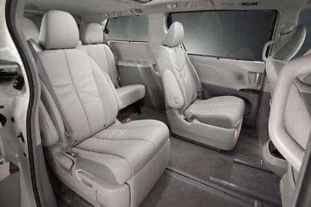Toyota Sienna Seats