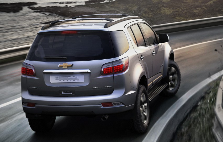 Chevrolet Trailblazer makes world debut in Thailand Image #94844