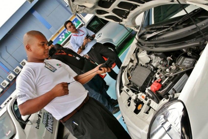 Perodua Tweckbot car inspection returns for Hari Raya Image #122090