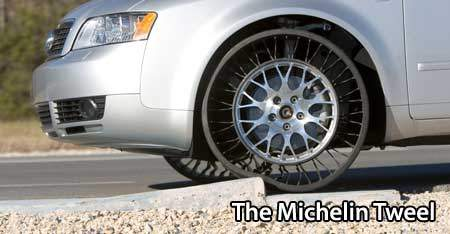 Who Invented The First Car >> The Michelin Tweel: the future of tyres is UGLY!