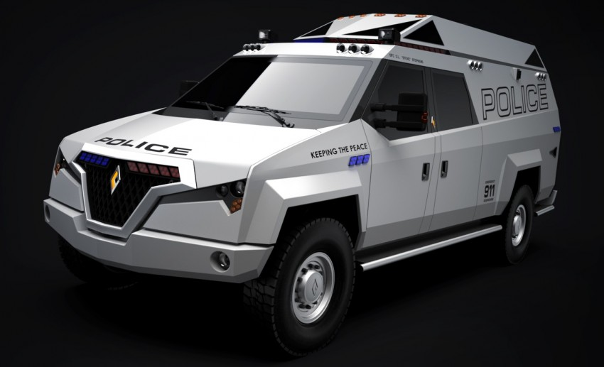 Carbon Motors TX7 – versatility for law enforcement Image #146590