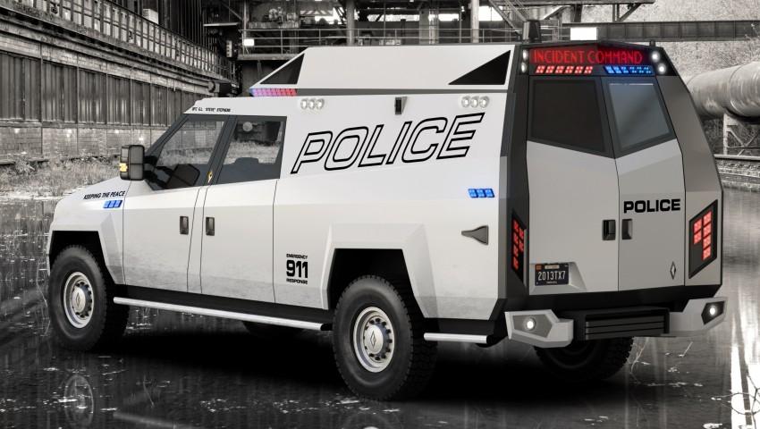 Carbon Motors TX7 – versatility for law enforcement Image #146589