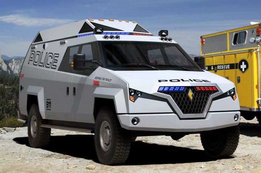 Carbon Motors TX7 – versatility for law enforcement Image #146587