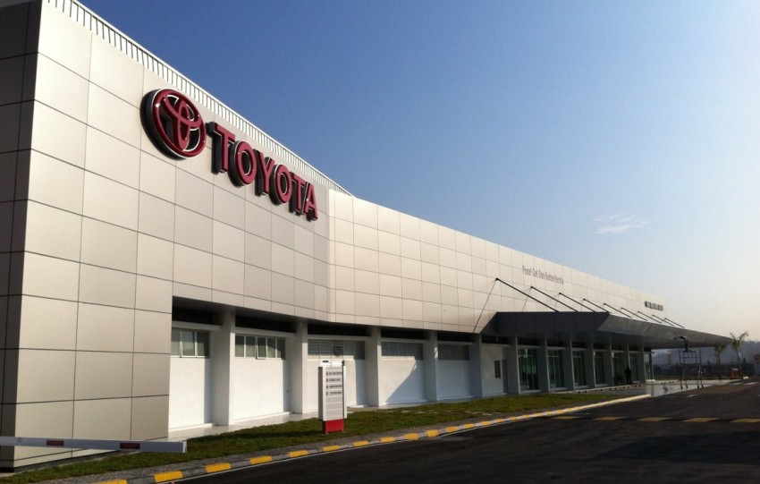 UMW Toyota's new Body and Paint centre opens in Klang Image #104643