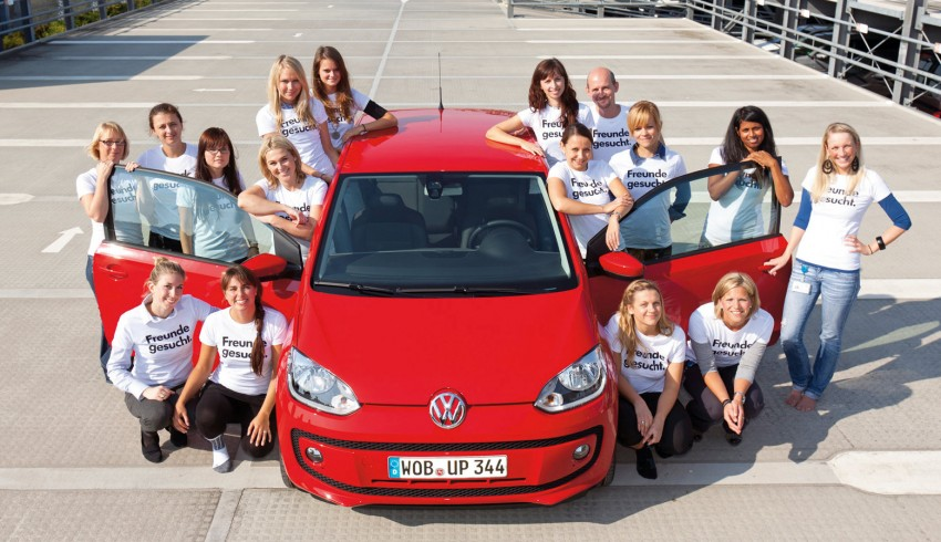 Volkswagen Up! – you can squeeze 16 people into one Image #73806