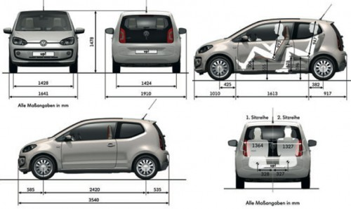 But The Up Looks Like It Has Better Packaging As It Has A Significantly Longer Wheelbase Mm Compared To The Ka And S Mm So This Would