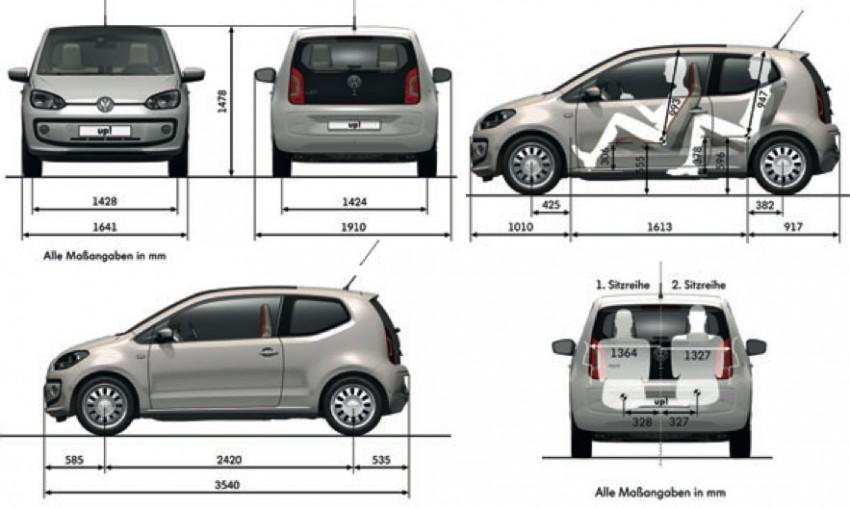 Volkswagen up! – production car debut at Frankfurt 2011 Image #69866
