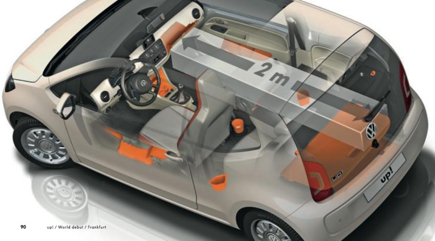 Volkswagen up! – production car debut at Frankfurt 2011 Image #69868
