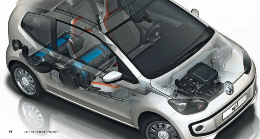 Volkswagen up! – production car debut at Frankfurt 2011 Image #69869