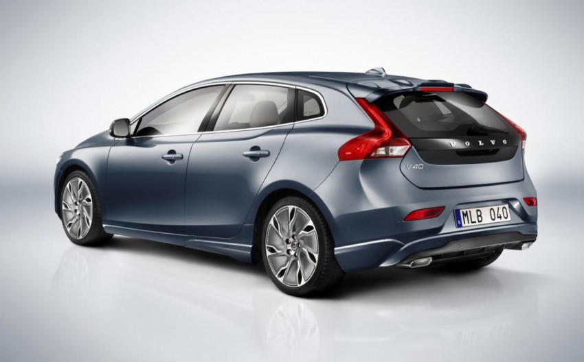 LEAKED: Volvo V40 video and hi res pics emerge online Image #90076