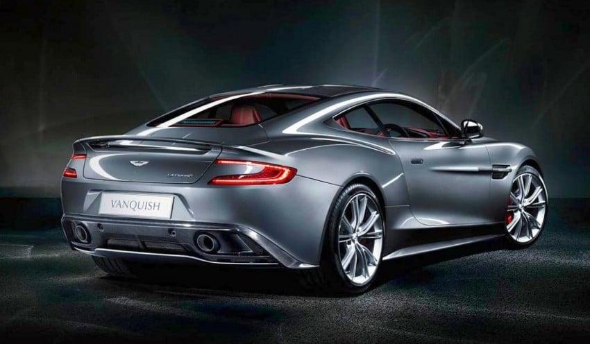 Aston Martin AM 310 Vanquish: more revealed Image #113839