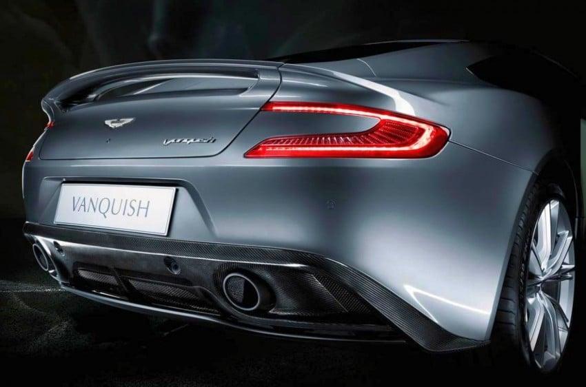 Aston Martin AM 310 Vanquish: more revealed Image #113841