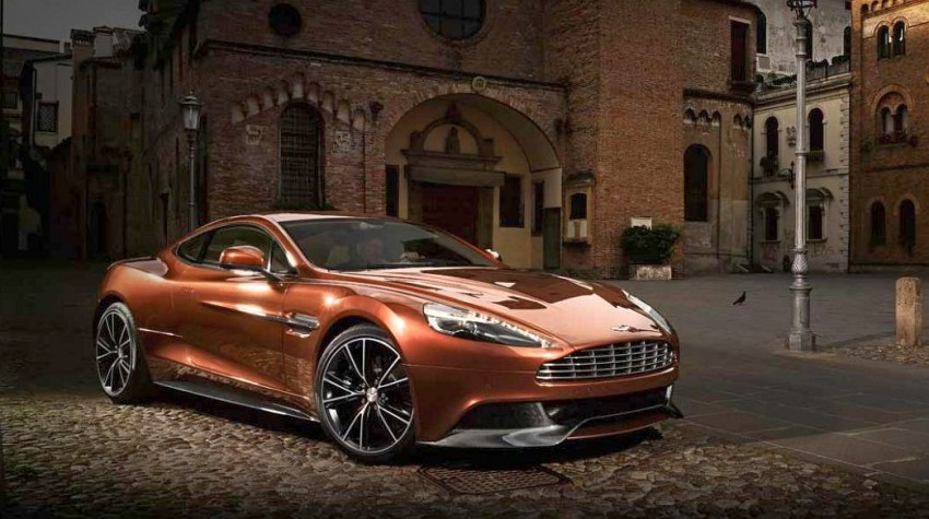 Aston Martin AM 310 Vanquish: more revealed Image #113837