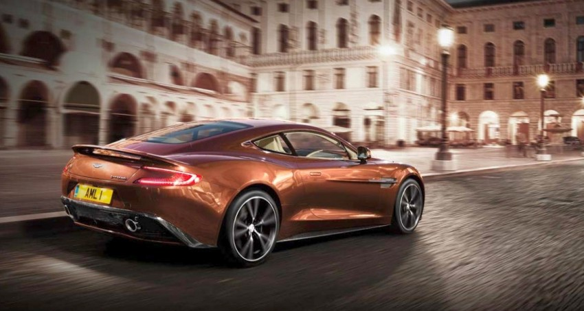 Aston Martin AM 310 Vanquish: more revealed Image #113844