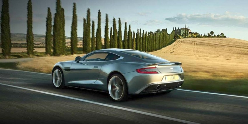 Aston Martin AM 310 Vanquish: more revealed Image #113836