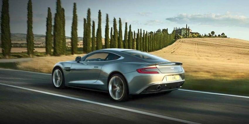 Aston Martin AM 310 Vanquish: more revealed Image #113836