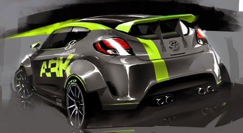 SEMA 01: ARK Performance 210 hp Hyundai Veloster turbo