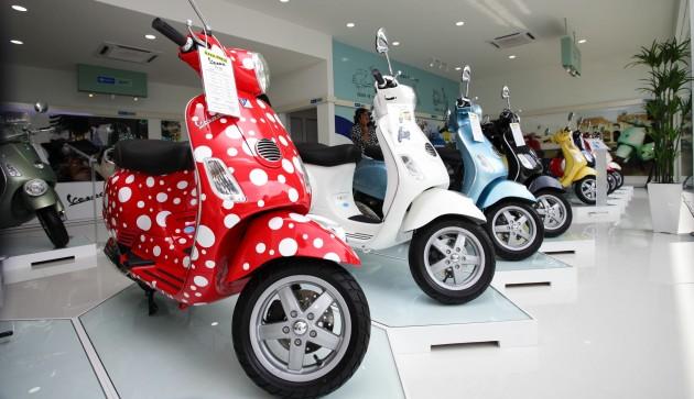 Vespa - first 3S centre opens in Petaling Jaya