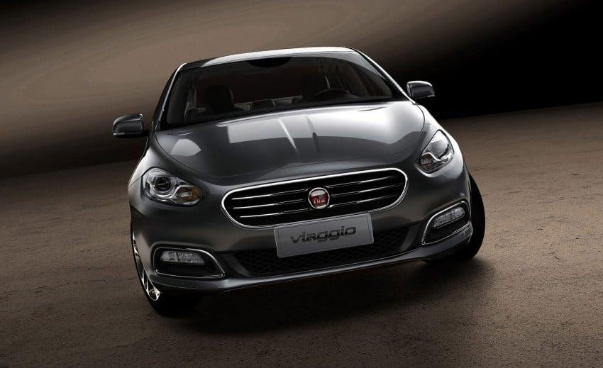 Fiat Viaggio, the handsome Italian Dodge Dart Image #103802