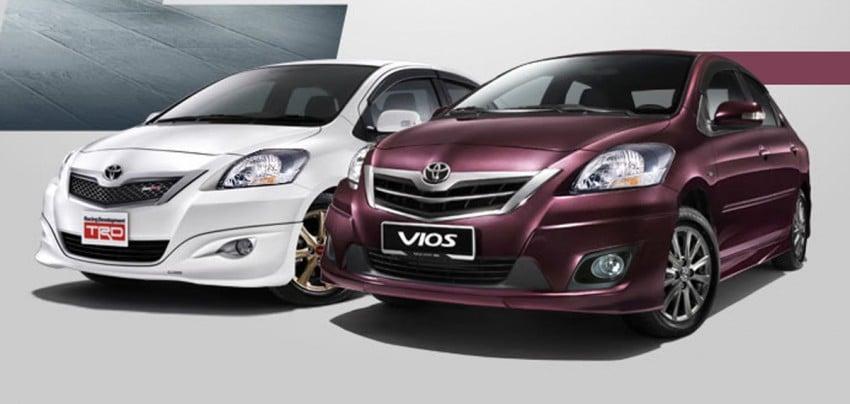 Toyota Vios enhanced for 2012 – RM73k to RM92k Image #113848